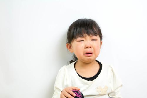 4歳 泣く