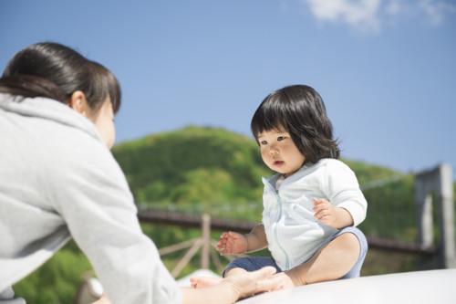 親子 赤ちゃん 日本人