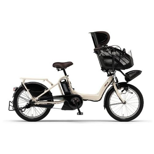 ヤマハ 20型 電動アシスト自転車 PAS Kiss mini XL(クリームアイボリー/内装3段変速)