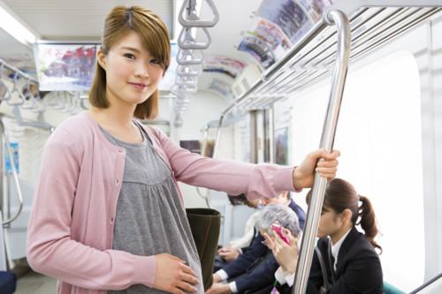 妊婦 電車