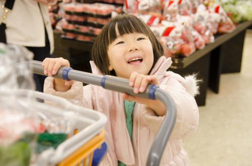 買い物 子供