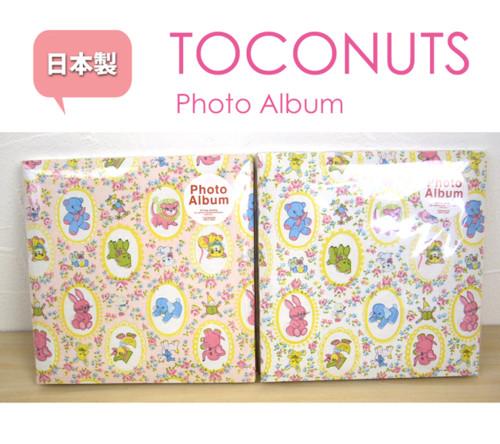 TOCONUTS (トコナッツ)トロアニマルプリントフォトアルバム