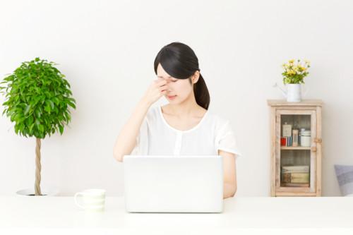 目の疲れ パソコン