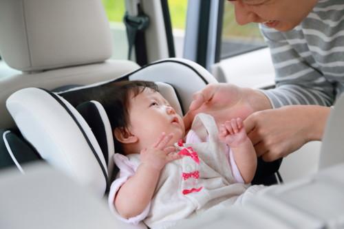 車 赤ちゃん 日本人