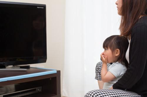 テレビ 見る 赤ちゃん