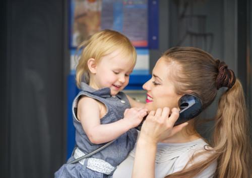 電話 ママ
