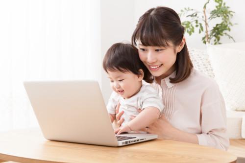 ママ 子供 パソコン