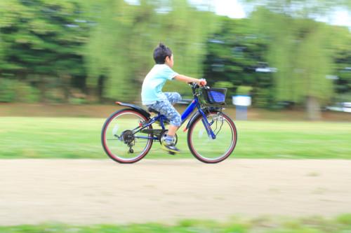 男の子 自転車