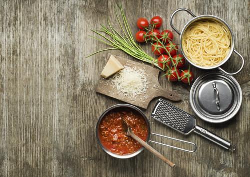 6.彩にも役立つスパゲティ