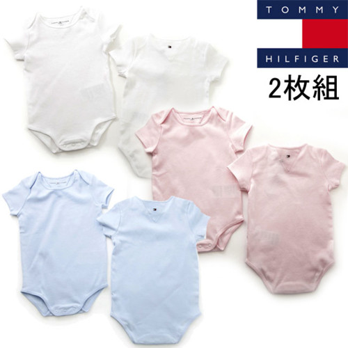TOMMY HILFIGER 2 PACK BABY BODY