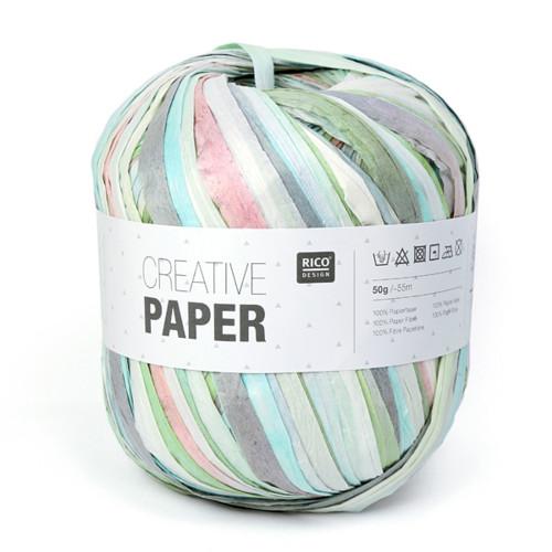 ペーパーヤーン(Paper Yarn パステルミックス)