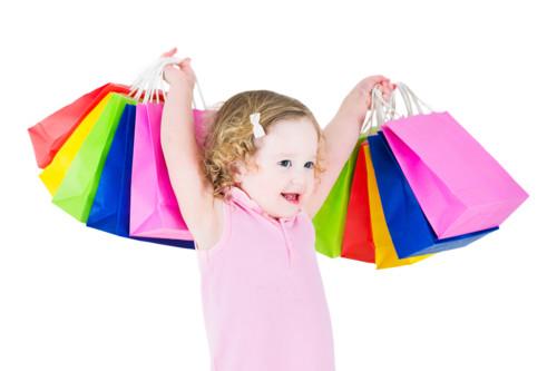 赤ちゃんのショッピング