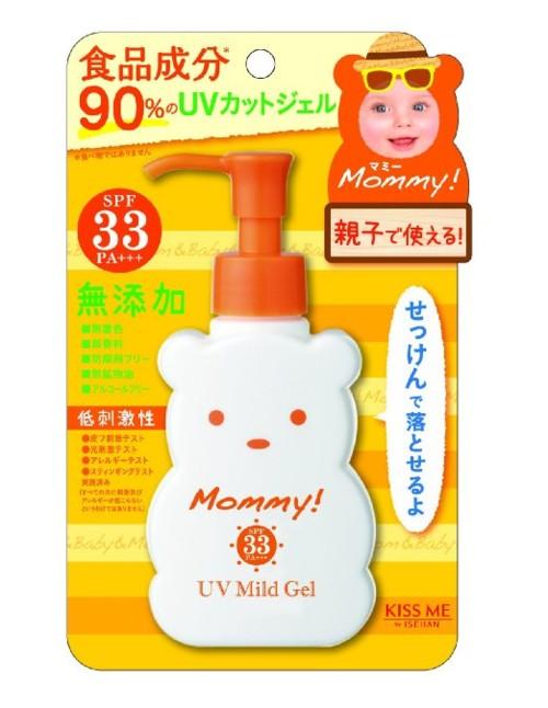 マミー UVマイルドジェルN 100g SPF33PA+++