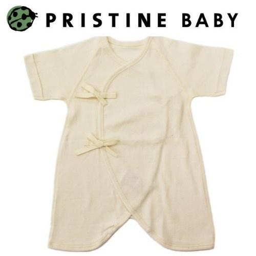 【プリスティン】 新生児コンビ肌着