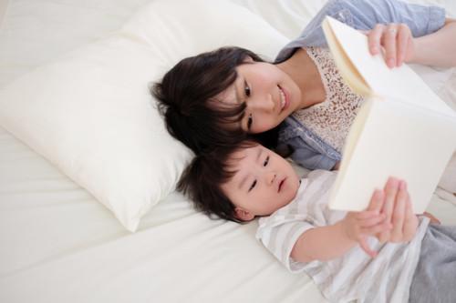 ママ 赤ちゃん ベッド
