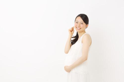 妊婦 笑う