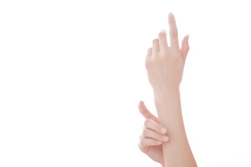 指 クリーム