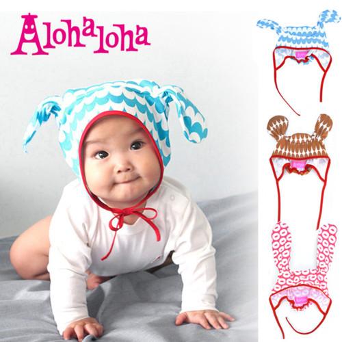 Alohaloha アロハロハ アニマルベビーキャップ