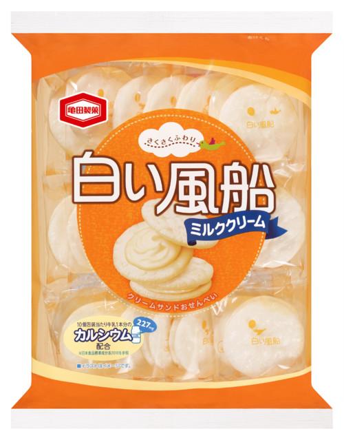 白い風船ミルククリーム 21枚