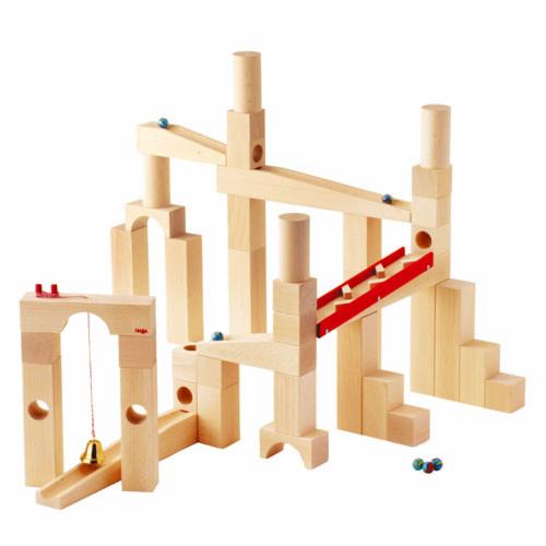木のおもちゃ スロープ ハバ社 HABA 組み立てクーゲルバーン