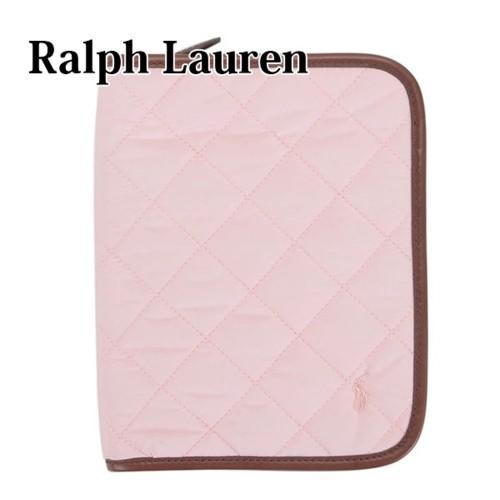 ラルフ ローレン RALPH LAUREN 母子手帳ケース マルチケース キルテッド マザーズ ブック ピンク