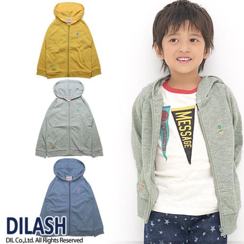 フード付きジップアップパーカー DILASH(ディラッシュ)
