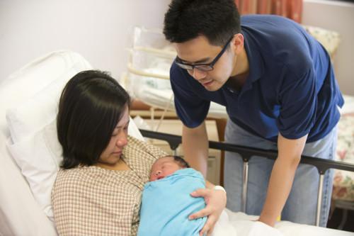 出産 家族