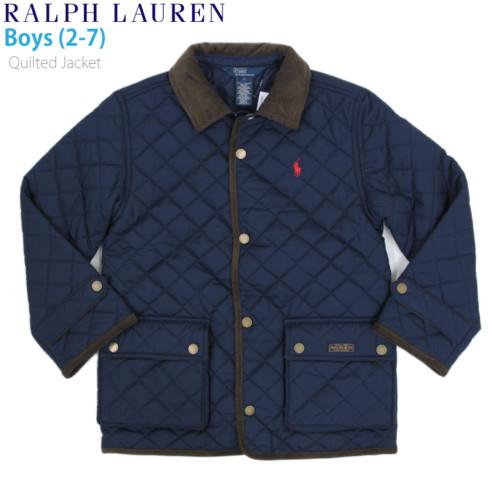 ラルフローレン 子供用のキルティングジャケット
