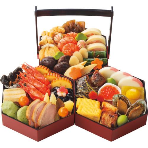 京菜味のむら 京風おせち「八坂」三段重